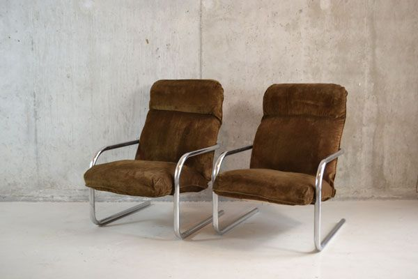 corduroy lounge chairs by habitat 1970s set of 2 for sale at pamono. Black Bedroom Furniture Sets. Home Design Ideas