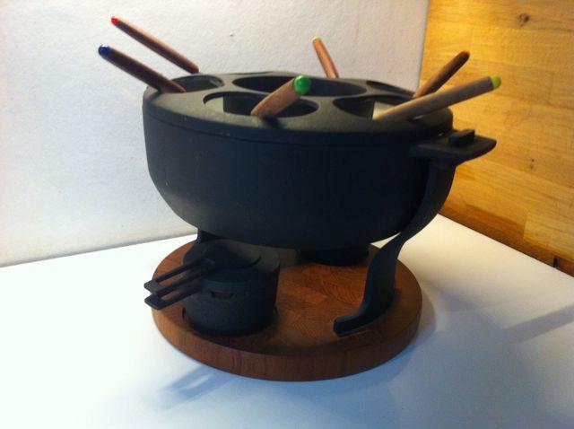 fondue set von digsmed denmark bei pamono kaufen. Black Bedroom Furniture Sets. Home Design Ideas