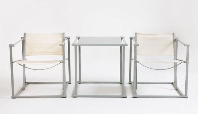 tisch und st hle set von radboud van beekum f r pastoe 1980er bei pamono kaufen. Black Bedroom Furniture Sets. Home Design Ideas
