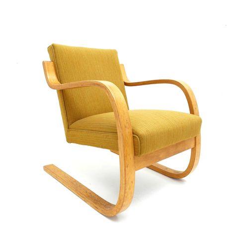 armchair by alvar aalto for artek 1933 for sale at pamono. Black Bedroom Furniture Sets. Home Design Ideas