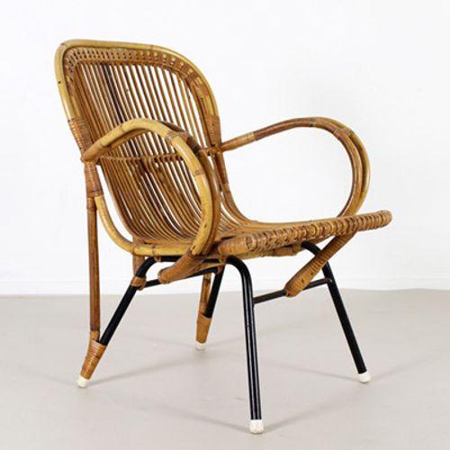 holl ndischer sessel von noordwolde holland bei pamono kaufen. Black Bedroom Furniture Sets. Home Design Ideas