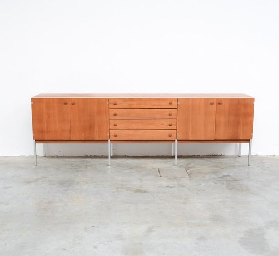 gro es sideboard aus teak 1960er bei pamono kaufen. Black Bedroom Furniture Sets. Home Design Ideas
