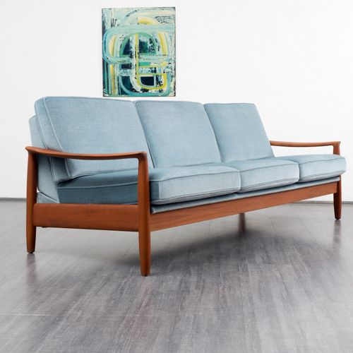 Fold out sofa bed from wk 1960s for sale at pamono for Fold out sofa bed for sale