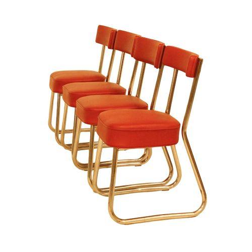 depot de lille bauhaus st hle 4er set bei pamono kaufen. Black Bedroom Furniture Sets. Home Design Ideas