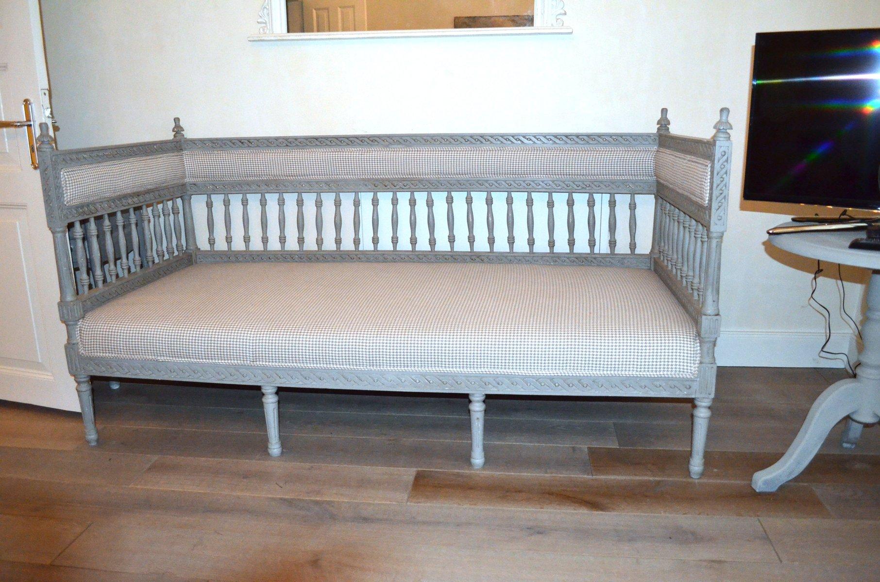 schwedisches graues vintage tagesbett bei pamono kaufen. Black Bedroom Furniture Sets. Home Design Ideas