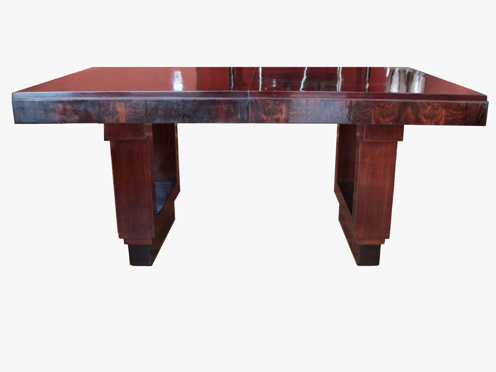 franz sischer art deco esstisch 1930er bei pamono kaufen. Black Bedroom Furniture Sets. Home Design Ideas