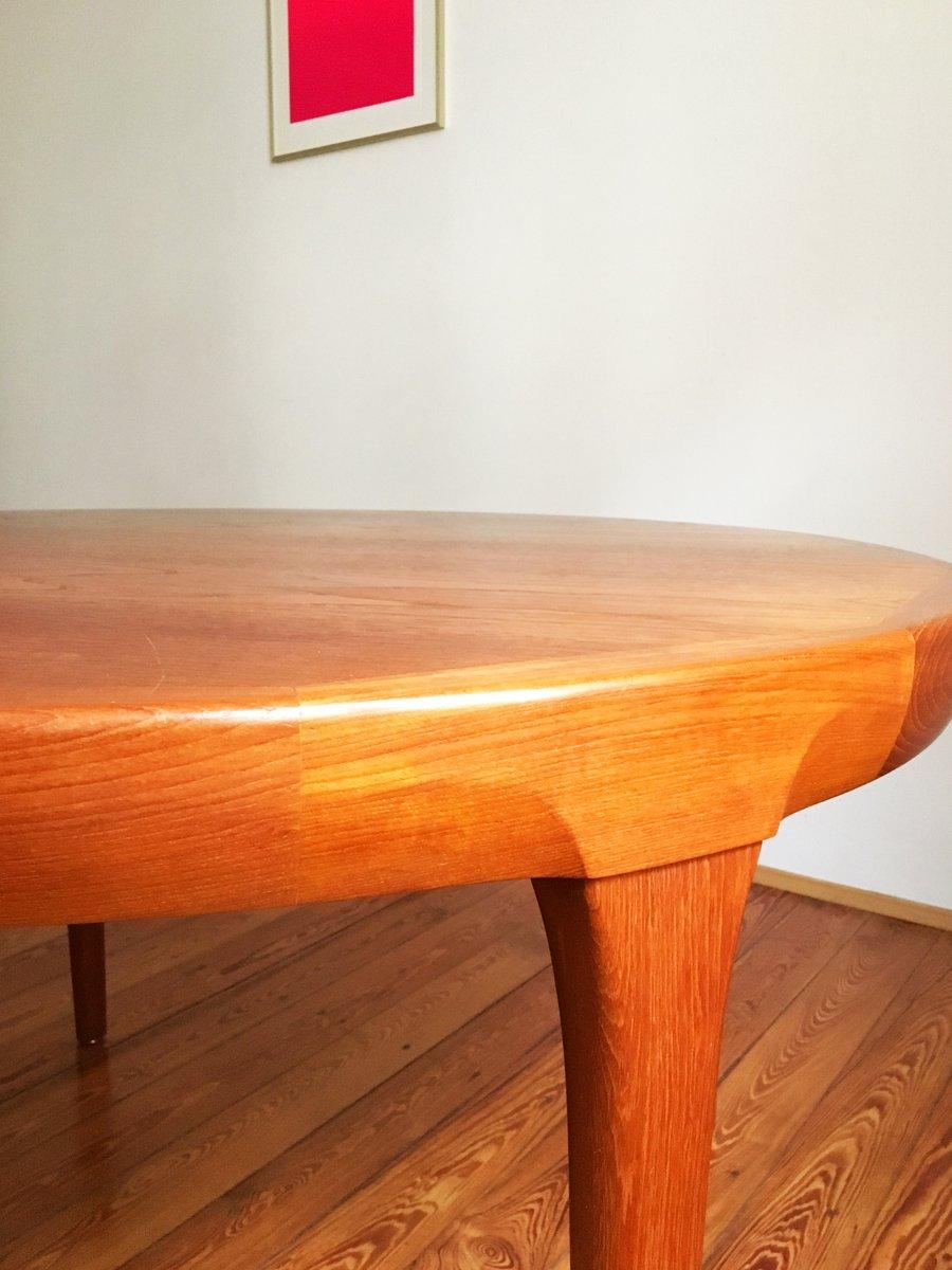 Round Danish Mid Century Teak Dining Table by Ib Kofod  : round danish mid century teak dining table by ib kofod larsen for faarup mobelfabrik 11 from www.pamono.com size 900 x 1200 jpeg 79kB