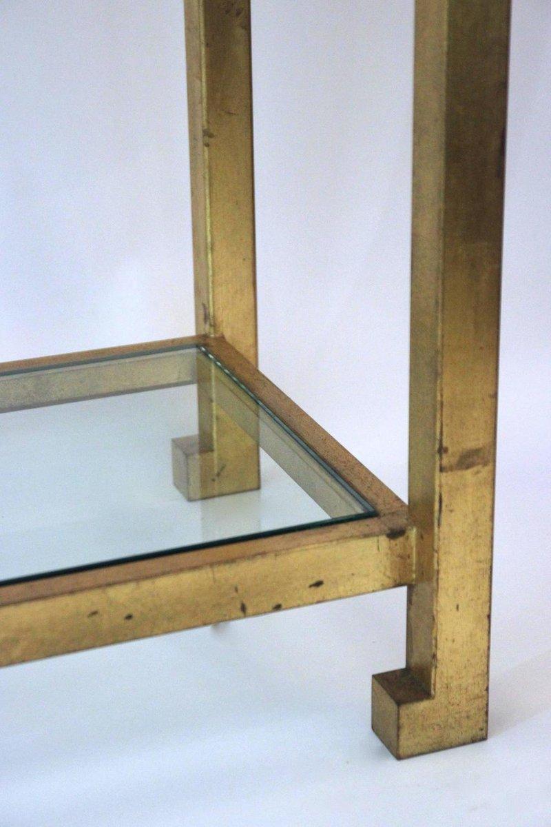 franz sischer konsolentisch aus eisen glas von maison. Black Bedroom Furniture Sets. Home Design Ideas
