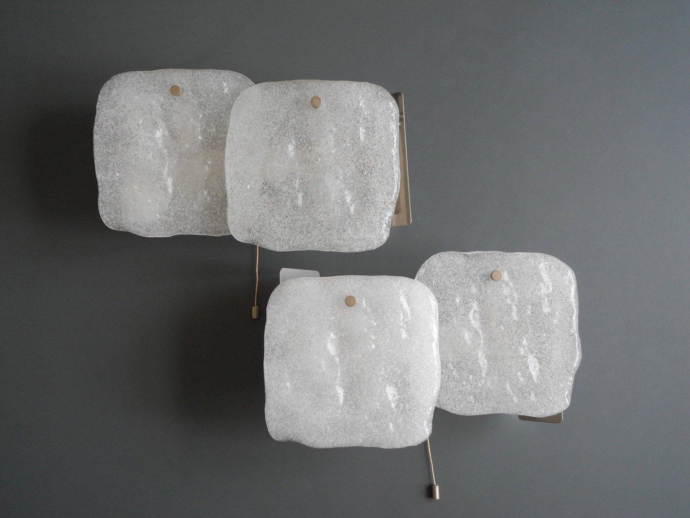 frosted glass sconces by jt kalmar for kalmar set of  for sale  - frosted glass sconces by jt kalmar for kalmar set of  for sale at pamono
