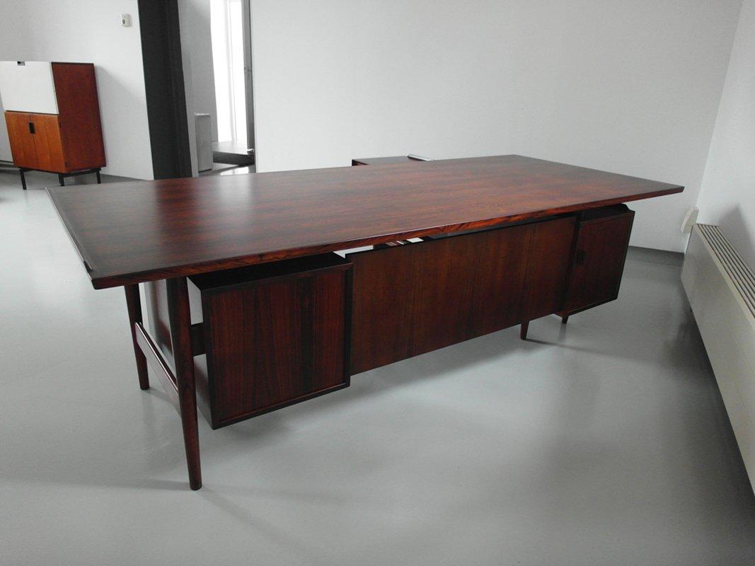 xxl schreibtisch von arne vodder f r sibast 1960er bei. Black Bedroom Furniture Sets. Home Design Ideas