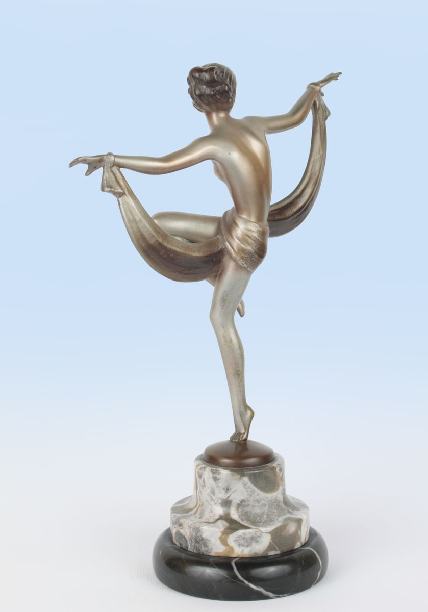 Bronze Figure Art Deco | eBay