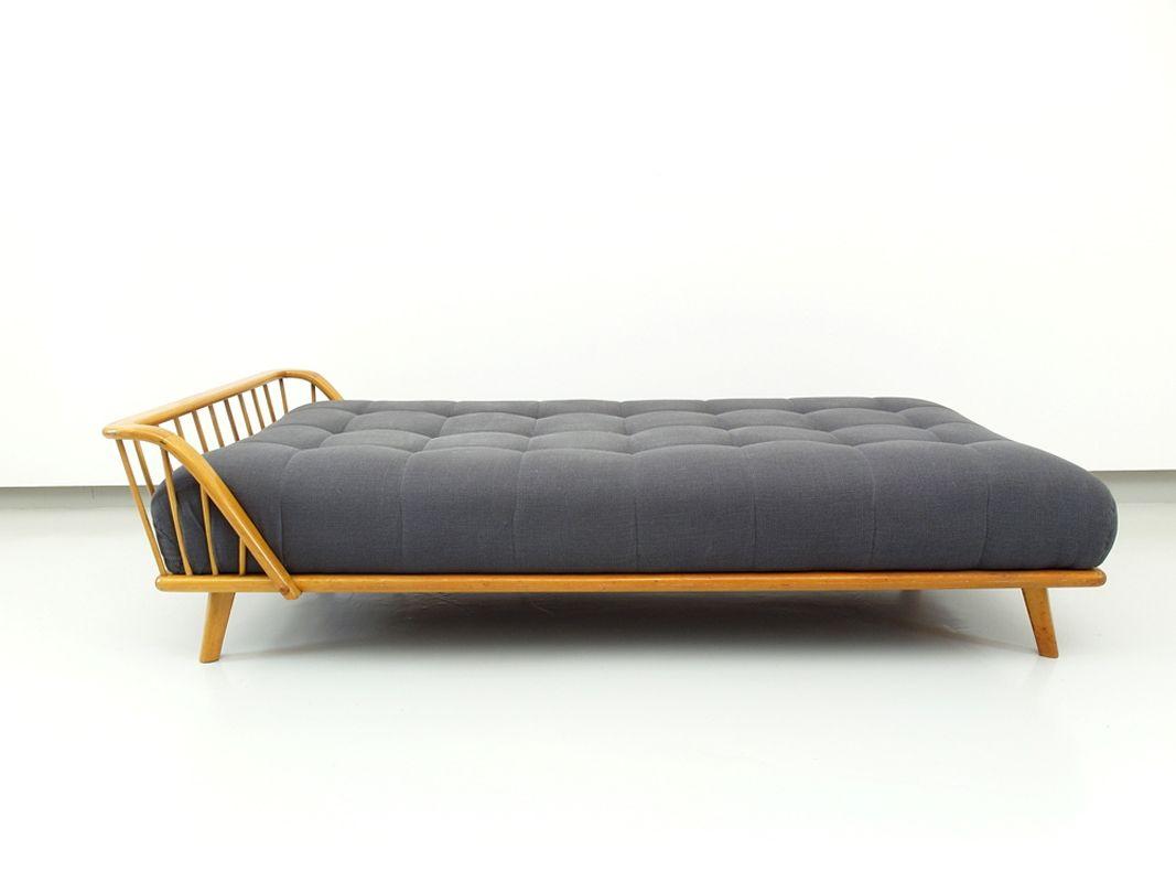 gepolstertes tagesbett von walter knoll f r knoll 1950er. Black Bedroom Furniture Sets. Home Design Ideas