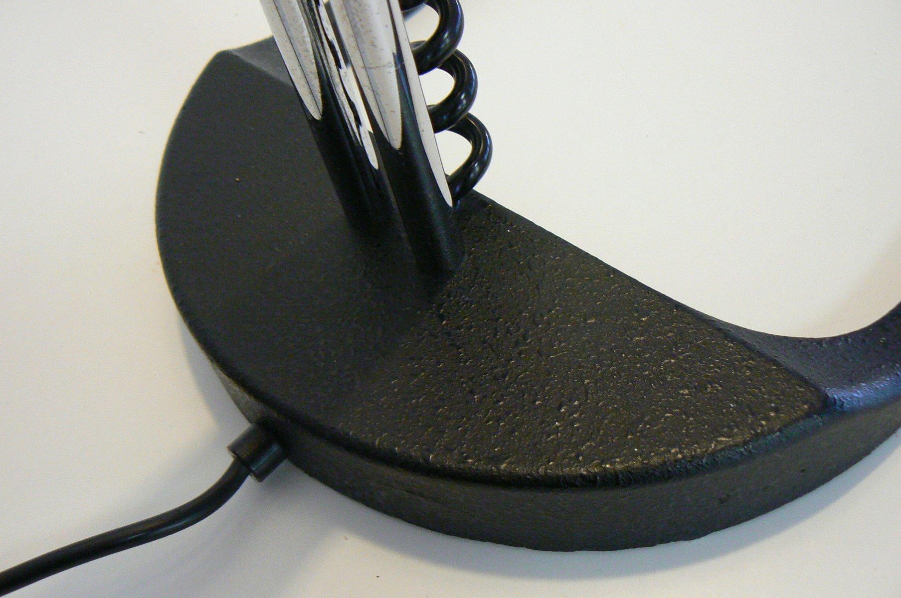 stehlampe mit lampenschirm aus kork von staff bei pamono kaufen. Black Bedroom Furniture Sets. Home Design Ideas