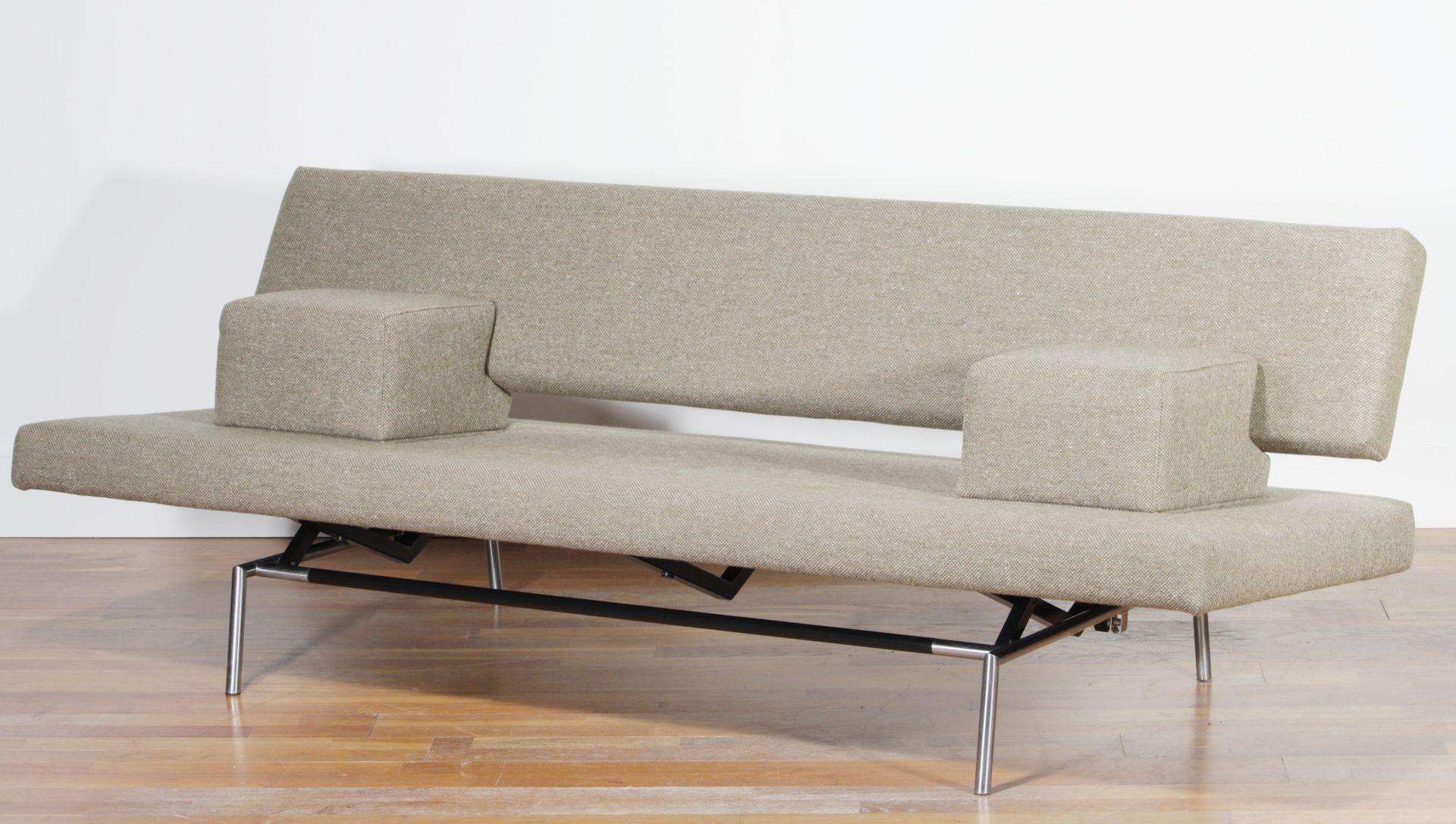 Sleeper sofa in beige von martin visser für spectrum, 1950er bei ...