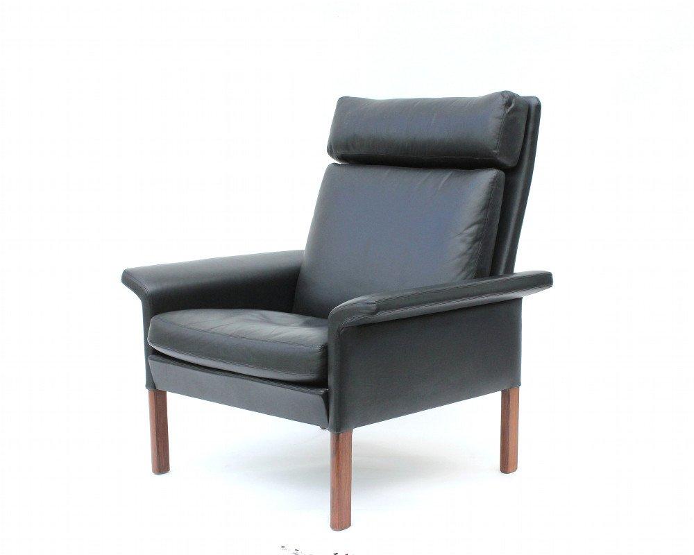 fauteuil mod le 500h vintage avec dossier haut par hans olsen pour glostrup en vente sur pamono. Black Bedroom Furniture Sets. Home Design Ideas