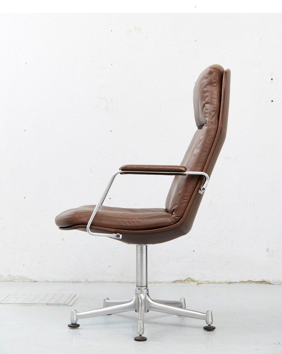 Chaise de bureau mod le fk86 vintage par jorgen kastholm - Chaise bureau originale ...