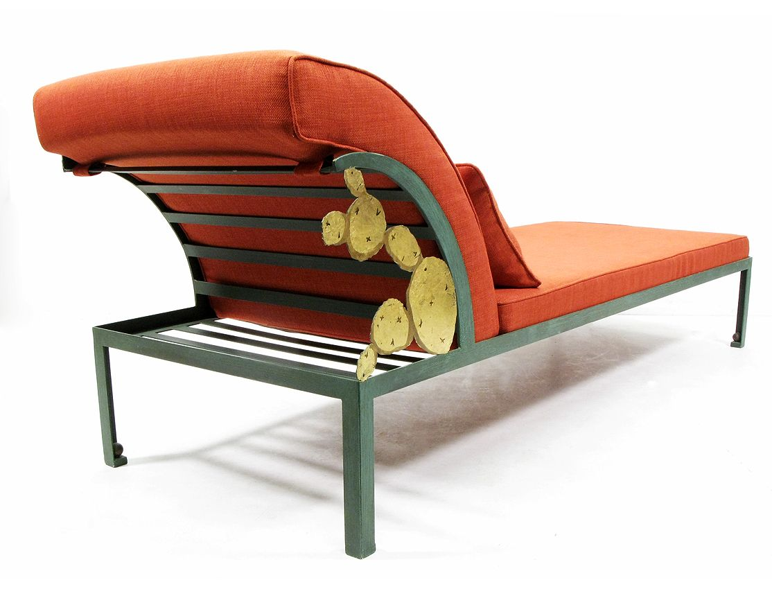 Cactus chaise longue by hilton mcconnico 1990s for sale for Chaise longue sale uk