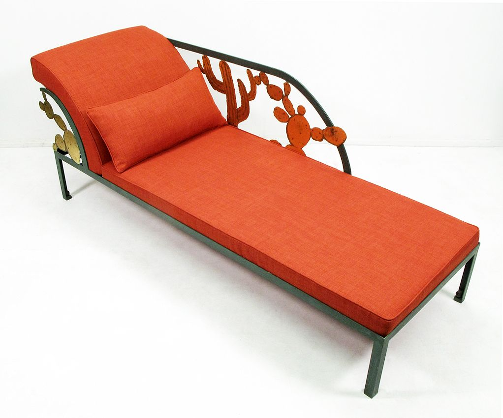 Cactus chaise longue by hilton mcconnico 1990s for sale for Chaise longue 2 personnes