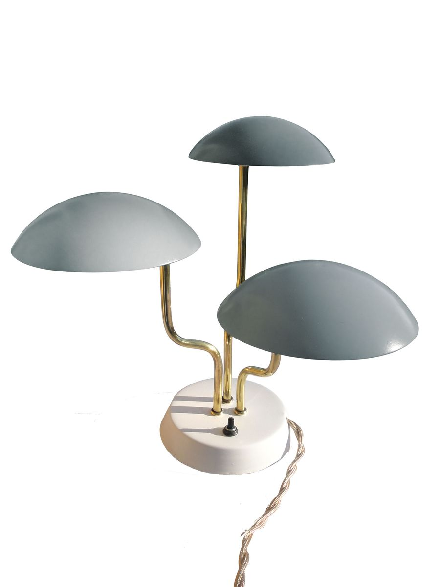 lampe de bureau model 259 par gino sarfatti 1950 en vente sur pamono. Black Bedroom Furniture Sets. Home Design Ideas