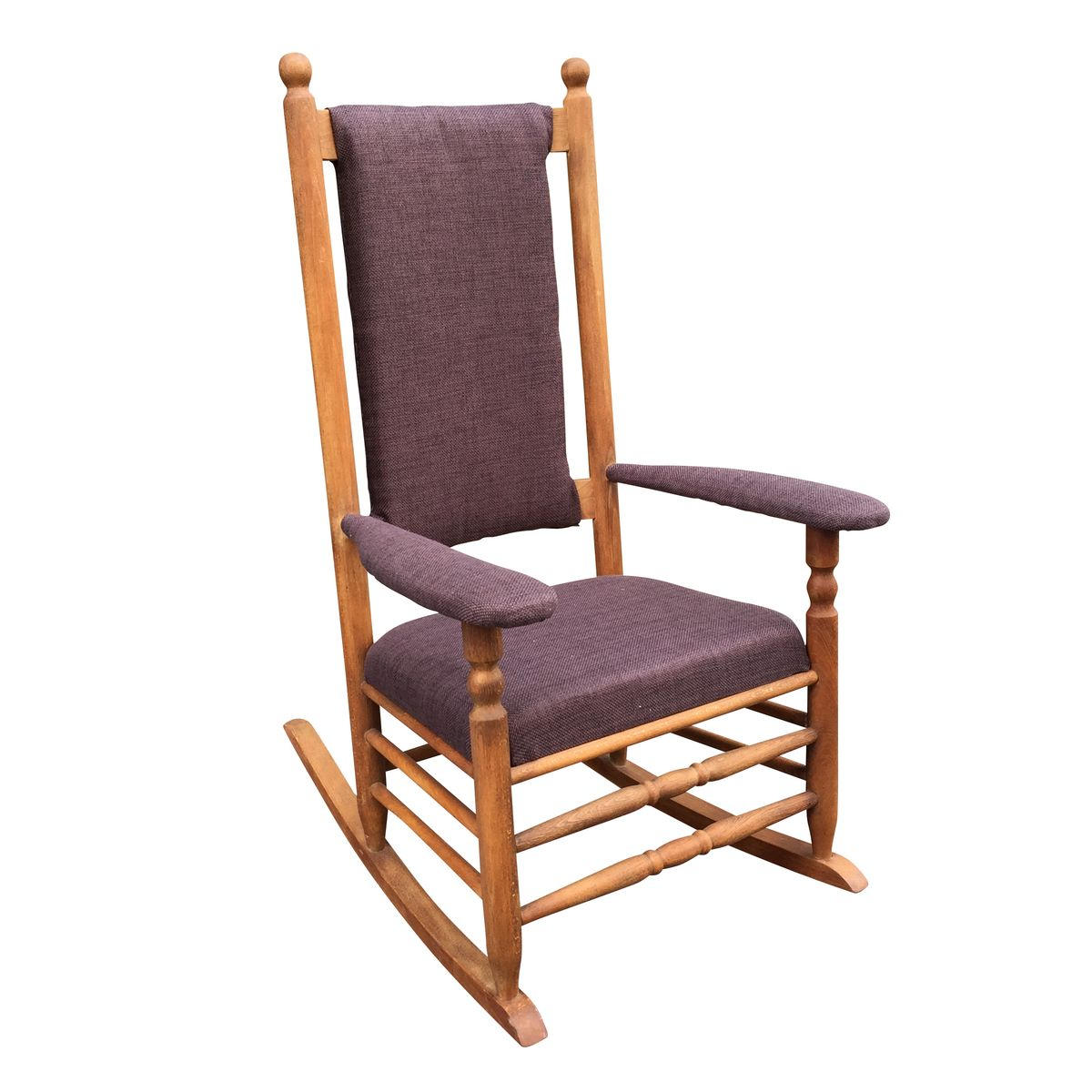 swedish oak rocking chair for sale at pamono. Black Bedroom Furniture Sets. Home Design Ideas