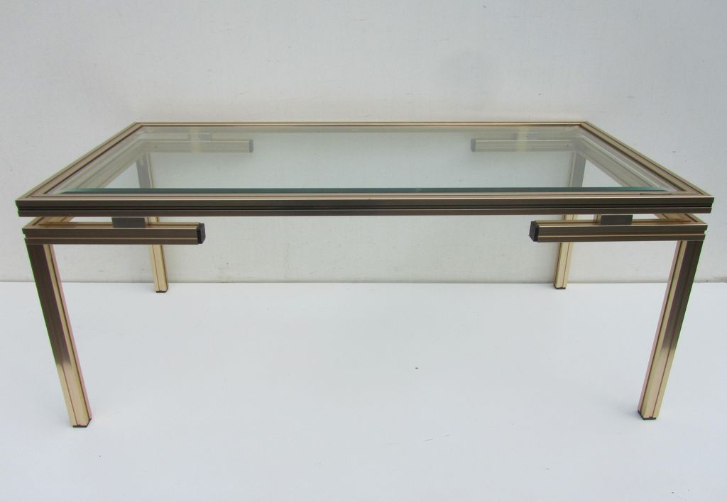 Vintage coffee tables by pierre vandel 1970s set of 2 for Coffee tables b m