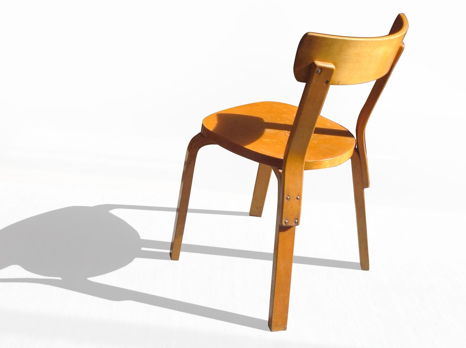 Birch Side Chair by Alvar Aalto for Artek 1937 for sale at Pamono