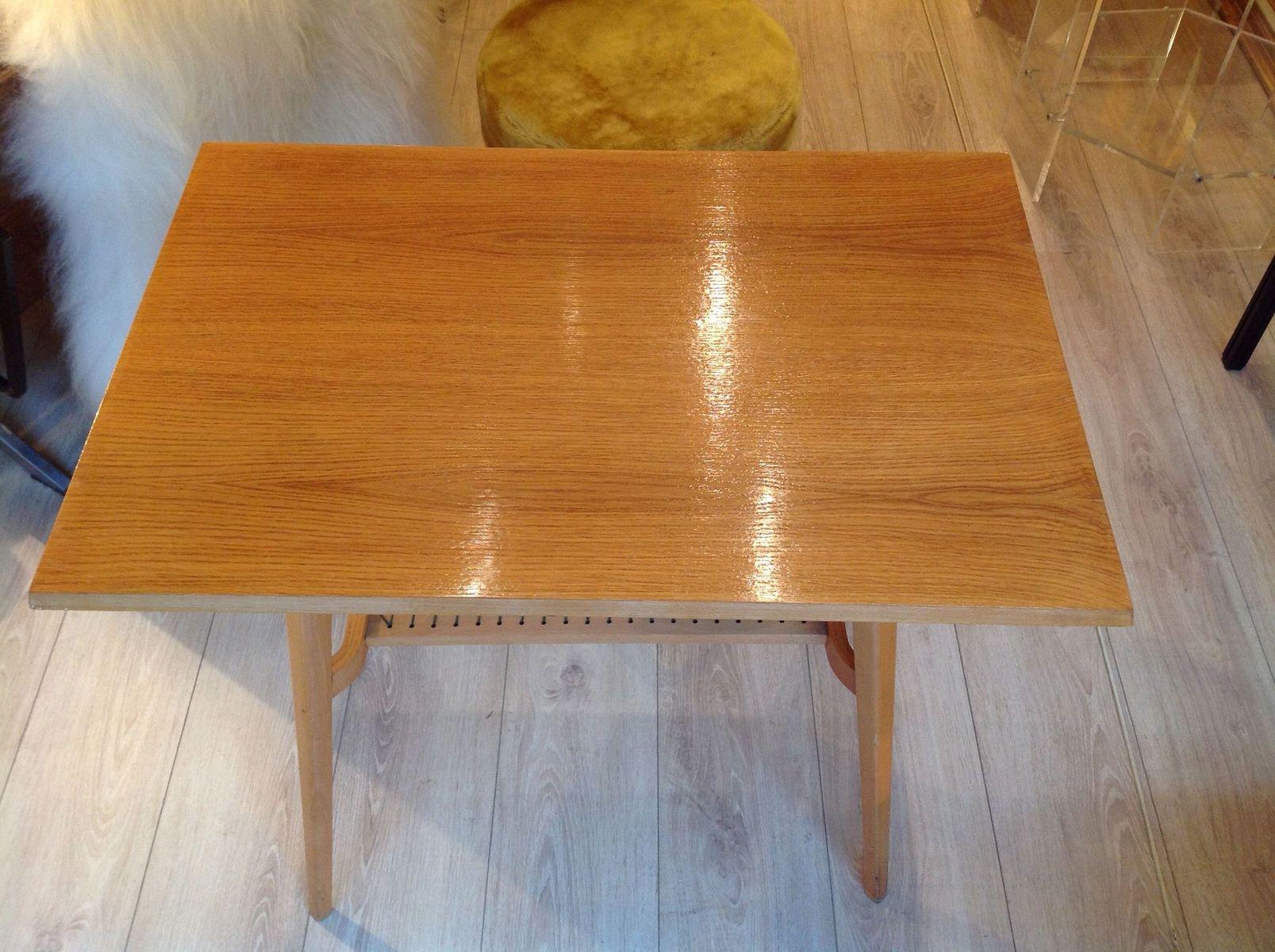 table d 39 appoint en ch ne clair de drevopodnik holesov 1960 en vente sur pamono. Black Bedroom Furniture Sets. Home Design Ideas