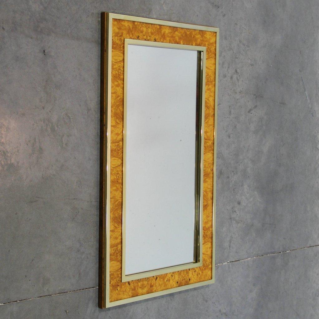 italienischer gro er vintage spiegel bei pamono kaufen. Black Bedroom Furniture Sets. Home Design Ideas