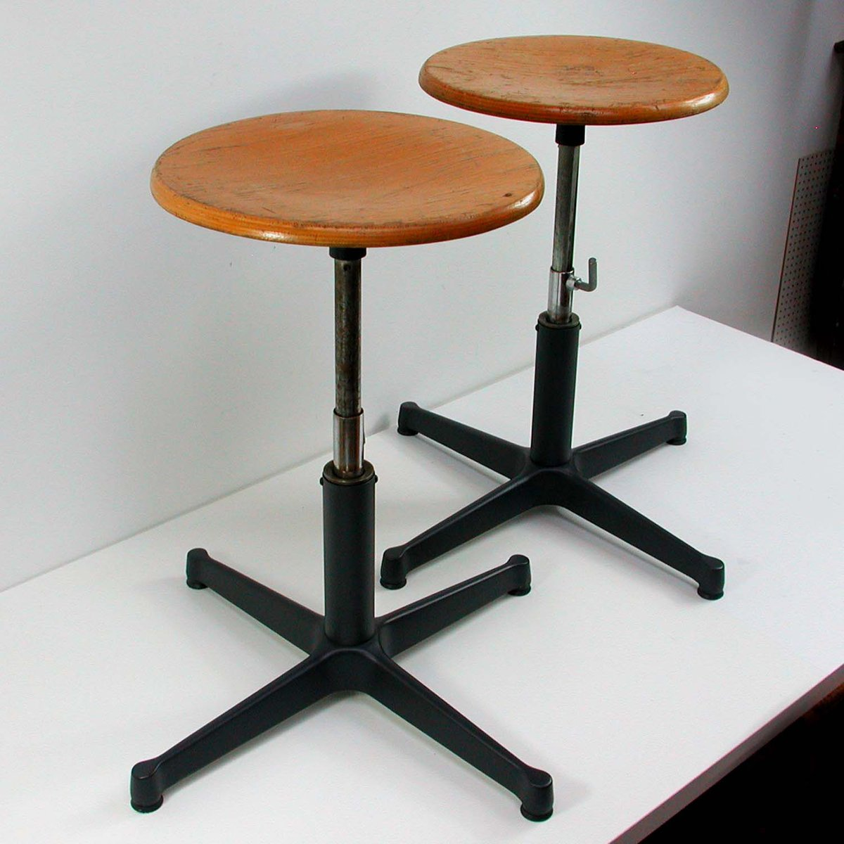 Vintage Industrial Work Stool 1960s : industrial work stool - islam-shia.org