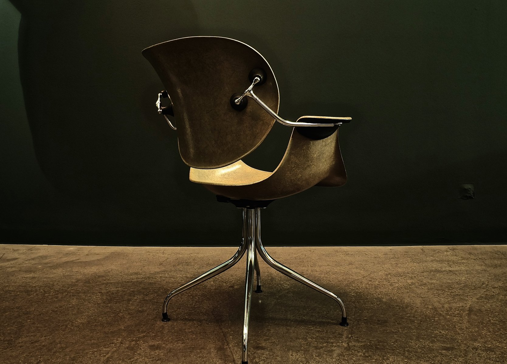 Swag Leg Chair DAA by George Nelson for Herman Miller 1959 for