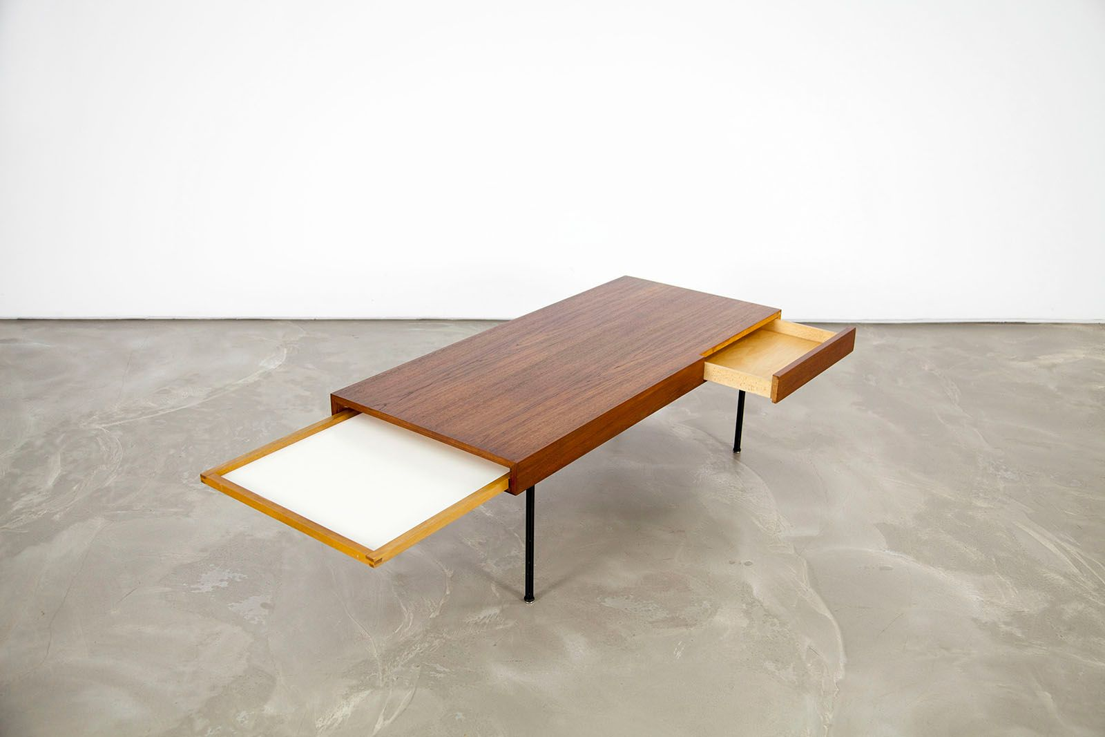 Extendable Mid Century 4652 Teak Coffee Table By George Nelson For Herman Miller For Sale At Pamono