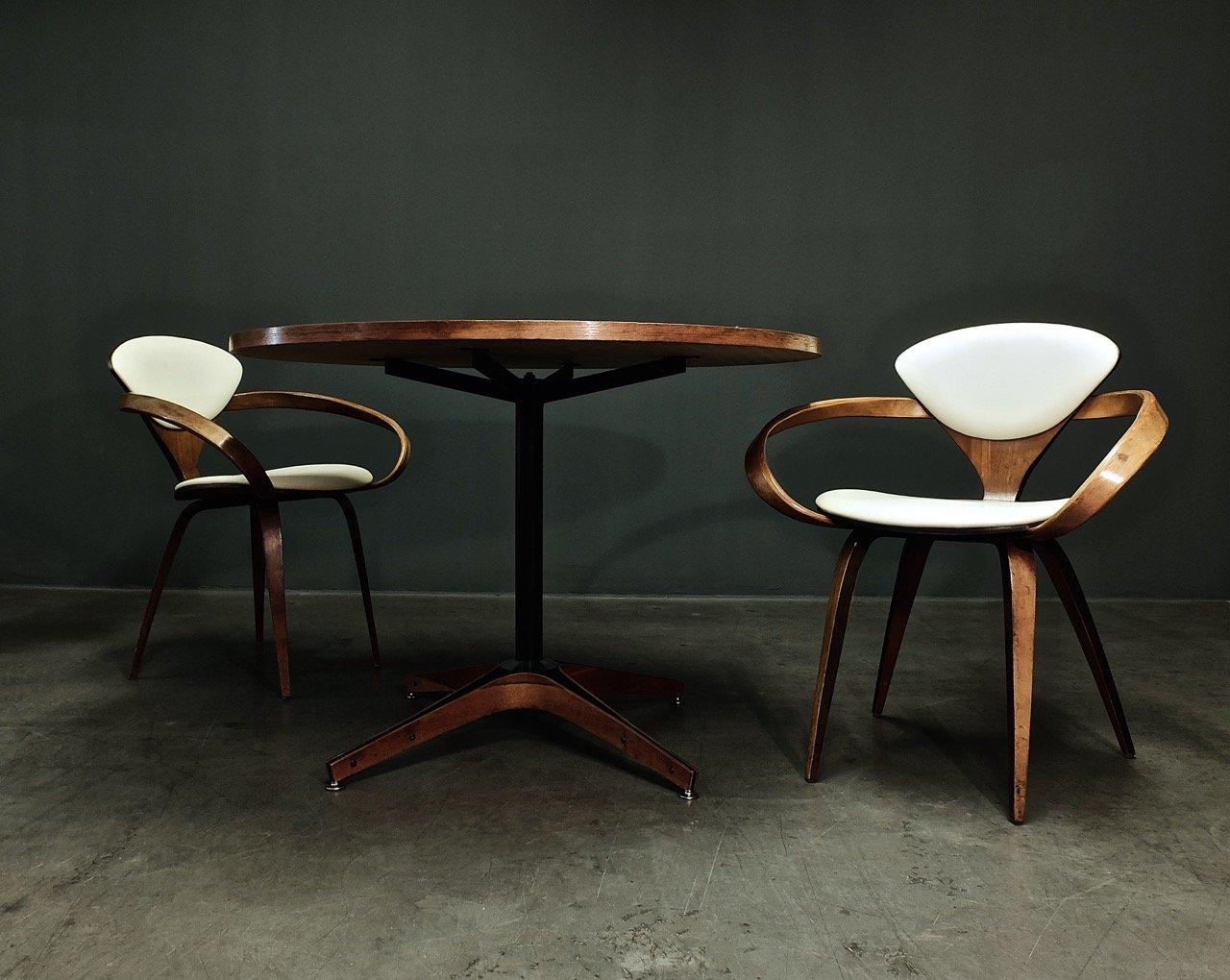 esstisch aus eichenholz von george muhlhouser f r plycraft bei pamono kaufen. Black Bedroom Furniture Sets. Home Design Ideas