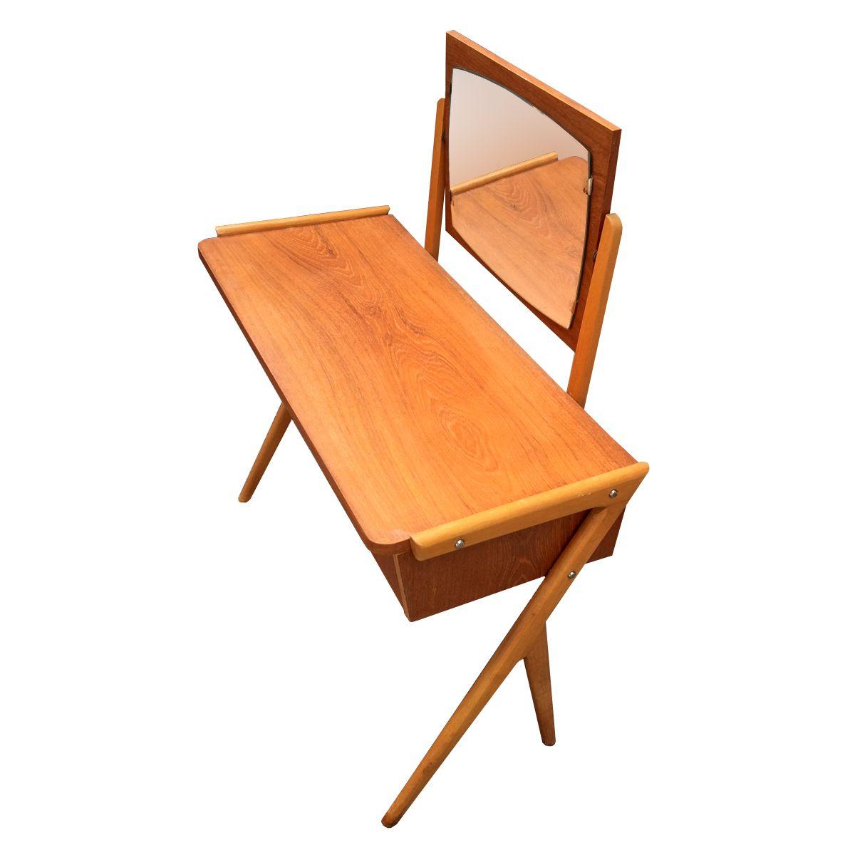 Scandinavian Teak Dressing Table 1960s For Sale At Pamono