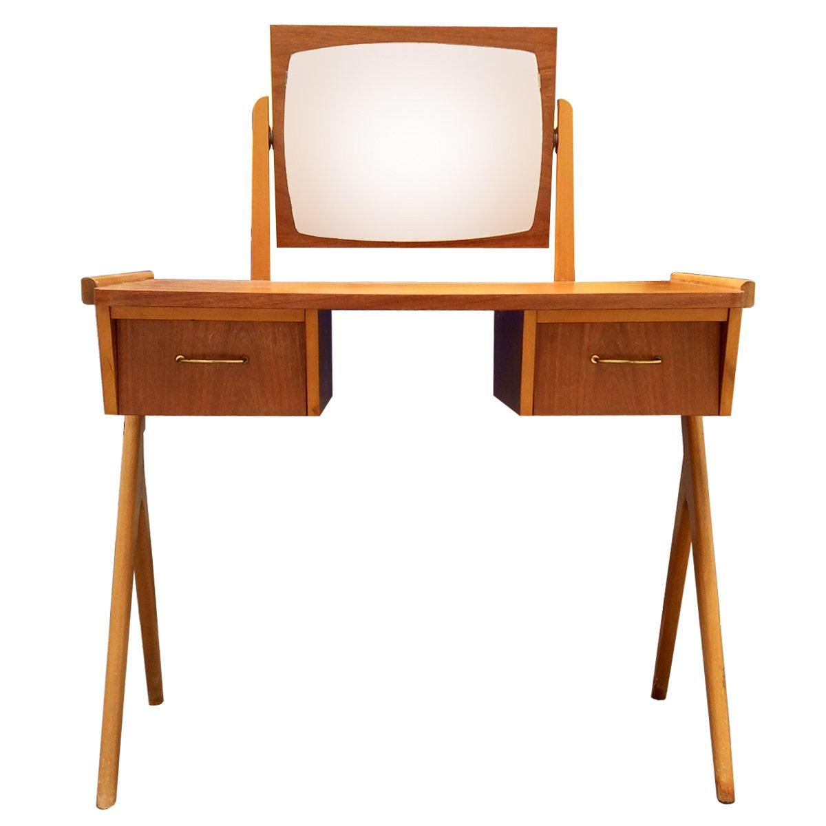 Scandinavian teak dressing table 1960s for sale at pamono for Dressing table 85cm