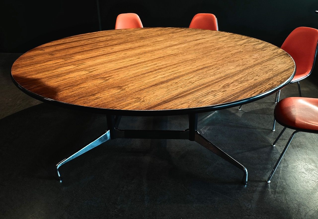 segmented table by ray charles eames for vitra for sale. Black Bedroom Furniture Sets. Home Design Ideas