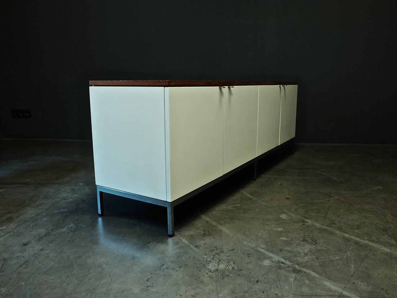 enfilade de bureau ex cutif par florence knoll pour knoll international en vente sur pamono. Black Bedroom Furniture Sets. Home Design Ideas