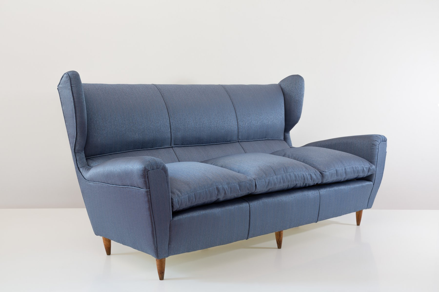 Wingback Three Seater Sofa By Paolo Buffa For Sale At Pamono