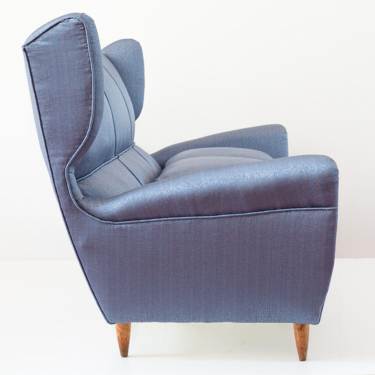 Drei sitzer ohrensessel sofa von paolo buffa bei pamono kaufen for Sofa 4 sitzer landhausstil