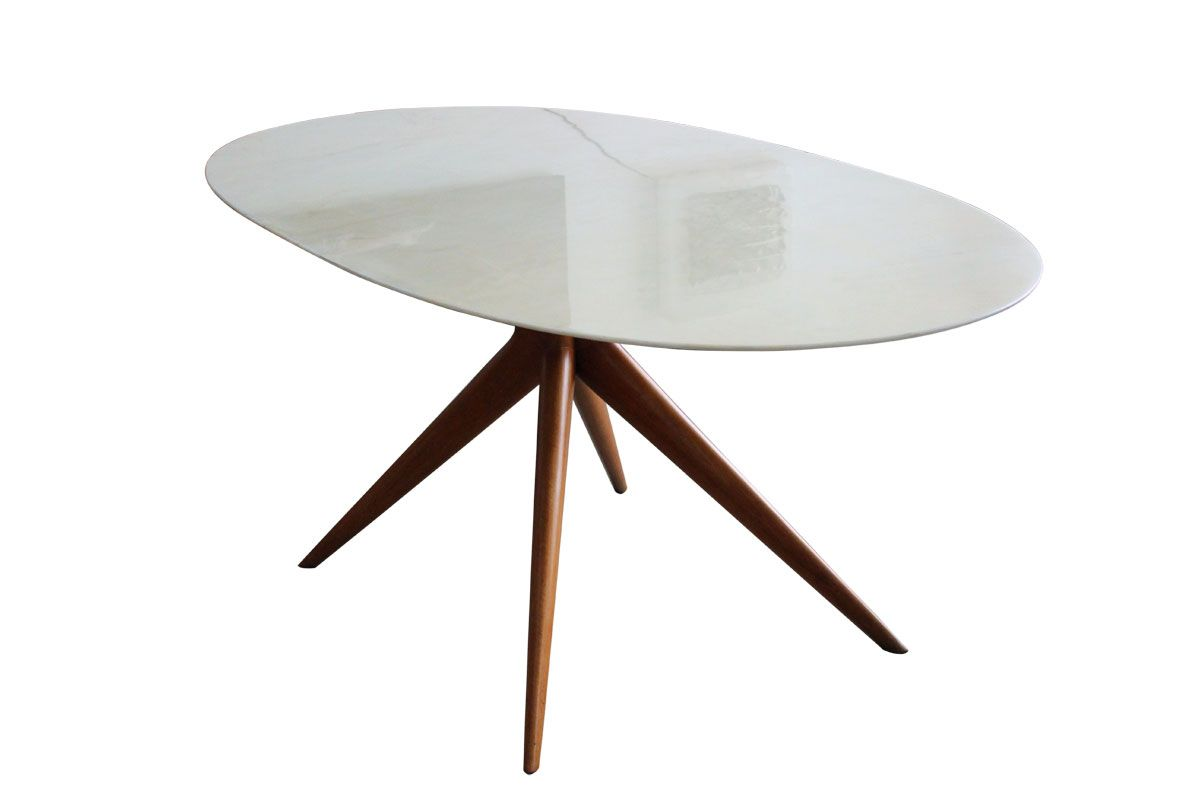 Italian Oval Marble Dining Table 1950s for sale at Pamono : italian oval marble dining table 1950s 3 from www.pamono.com size 1200 x 800 jpeg 39kB