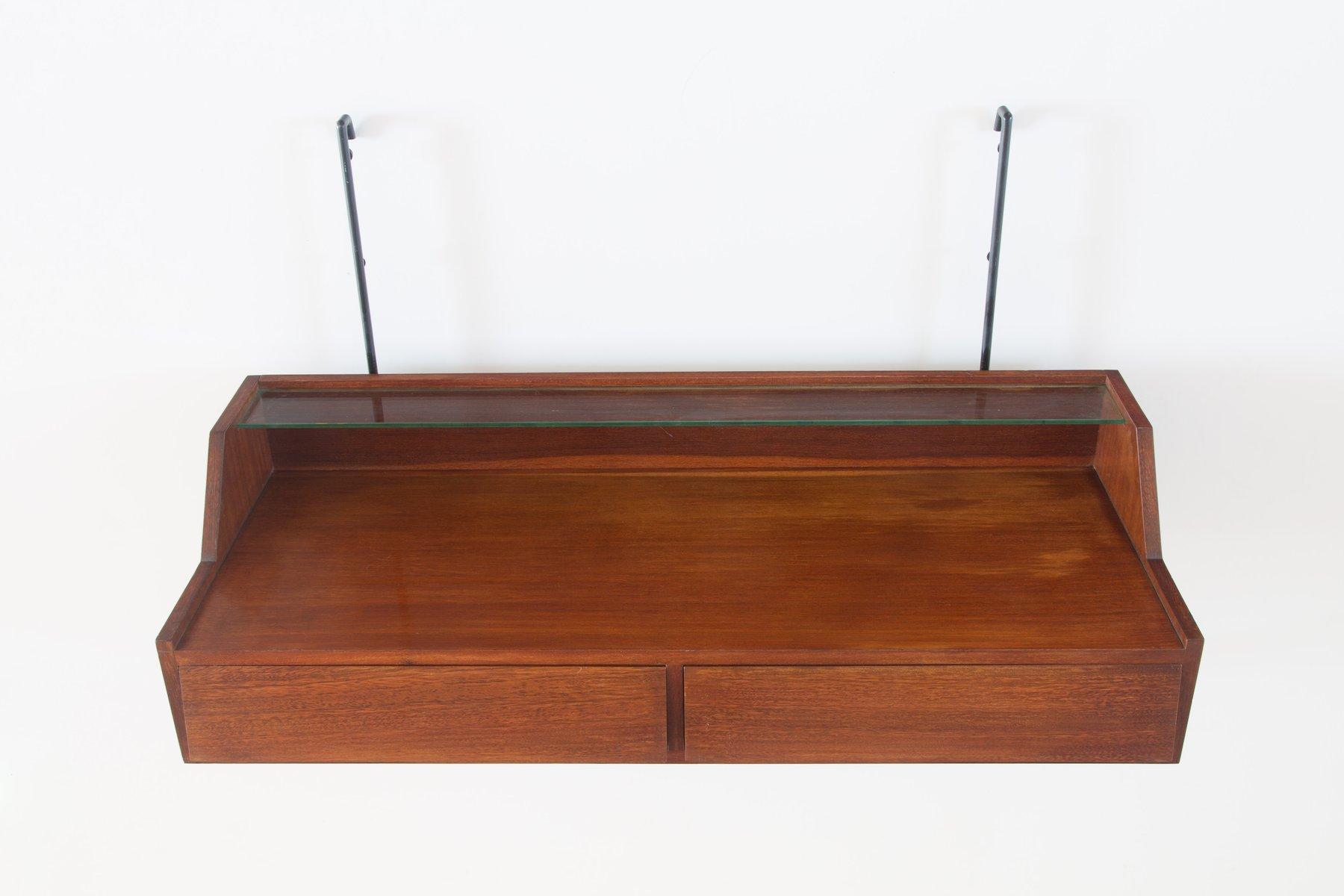 bureau suspendu par sergio conti marisa forlani et luciano grassi en vente sur pamono. Black Bedroom Furniture Sets. Home Design Ideas