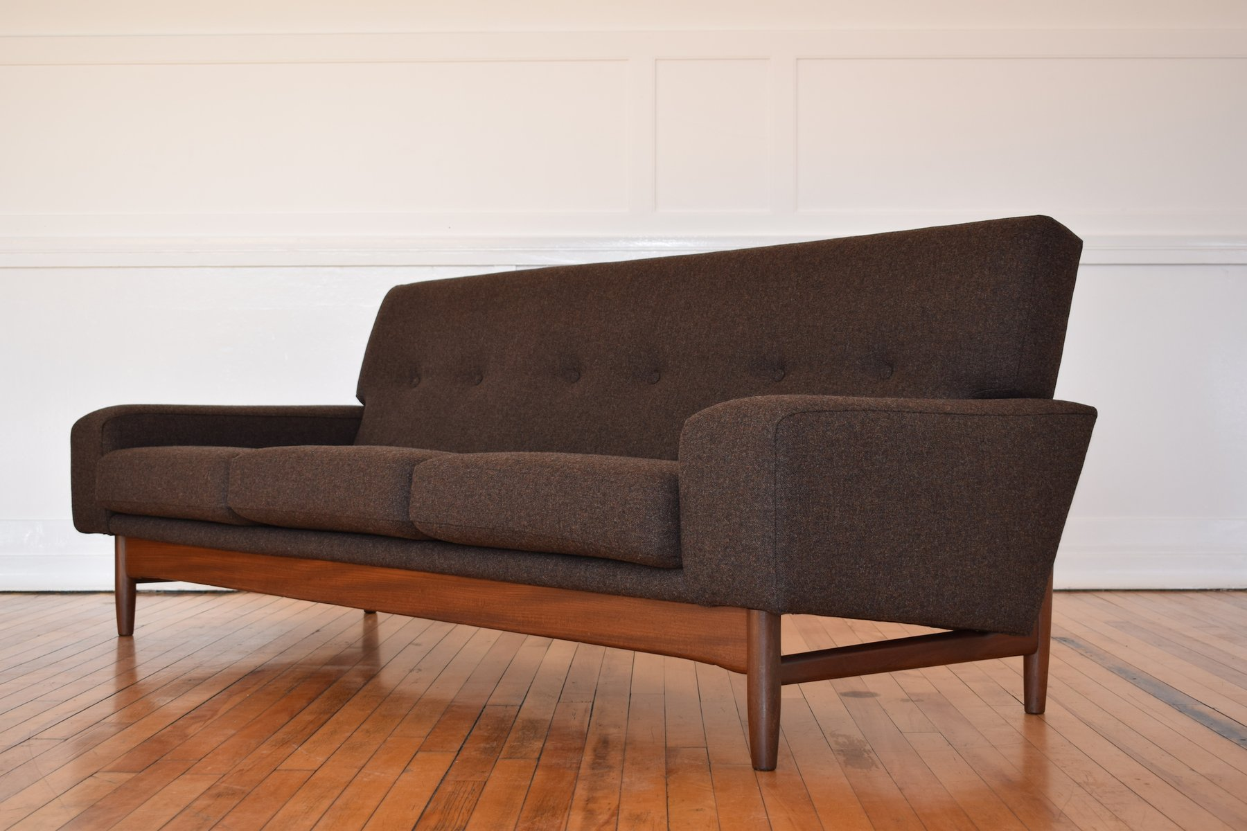 teak sofa von ib kofod larsen f r g plan 1960er bei pamono kaufen. Black Bedroom Furniture Sets. Home Design Ideas