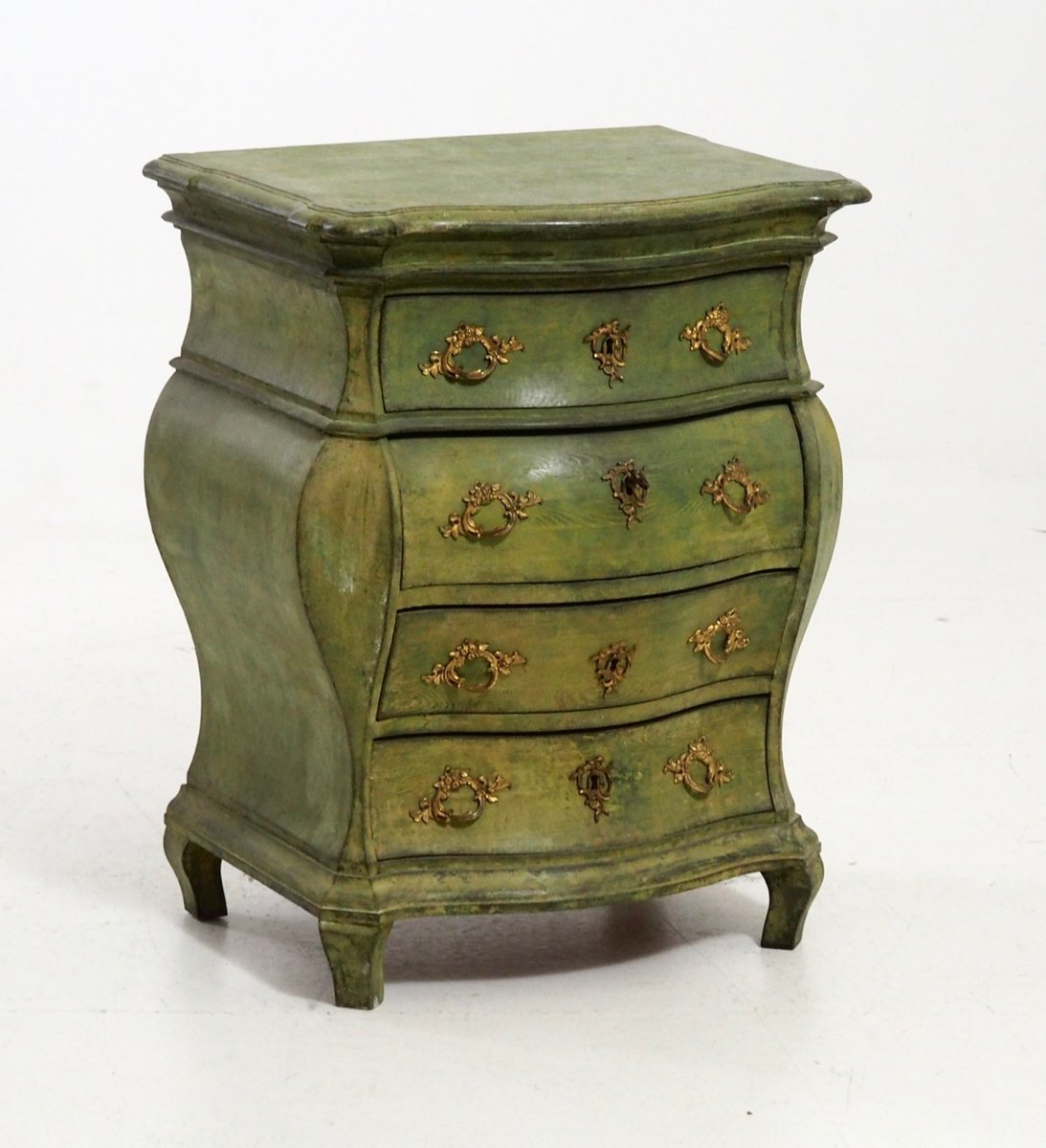 antique rococo style scandinavian commode for sale at pamono. Black Bedroom Furniture Sets. Home Design Ideas