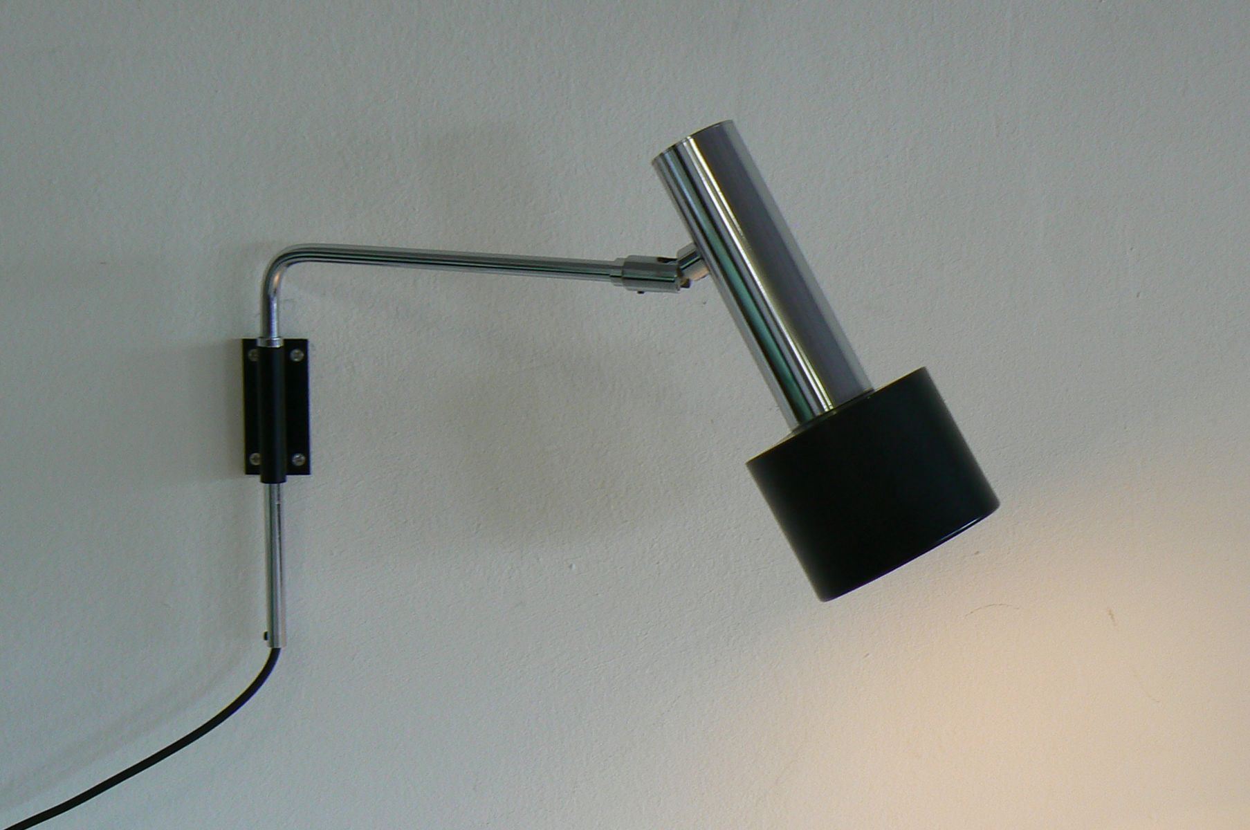 Wall Lights Adjustable : German Adjustable Wall Light, 1960s for sale at Pamono