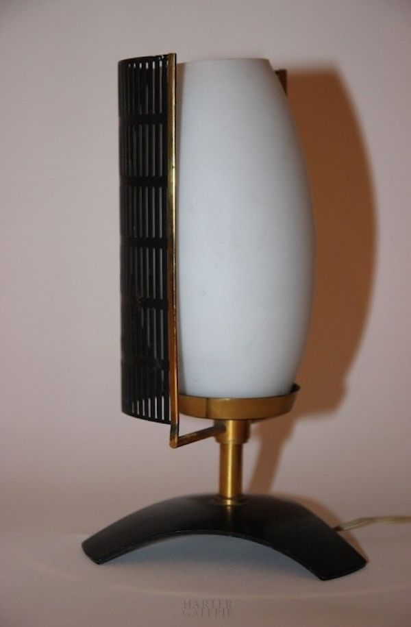 small italian table lamps from stilnovo 1960s set of 2. Black Bedroom Furniture Sets. Home Design Ideas