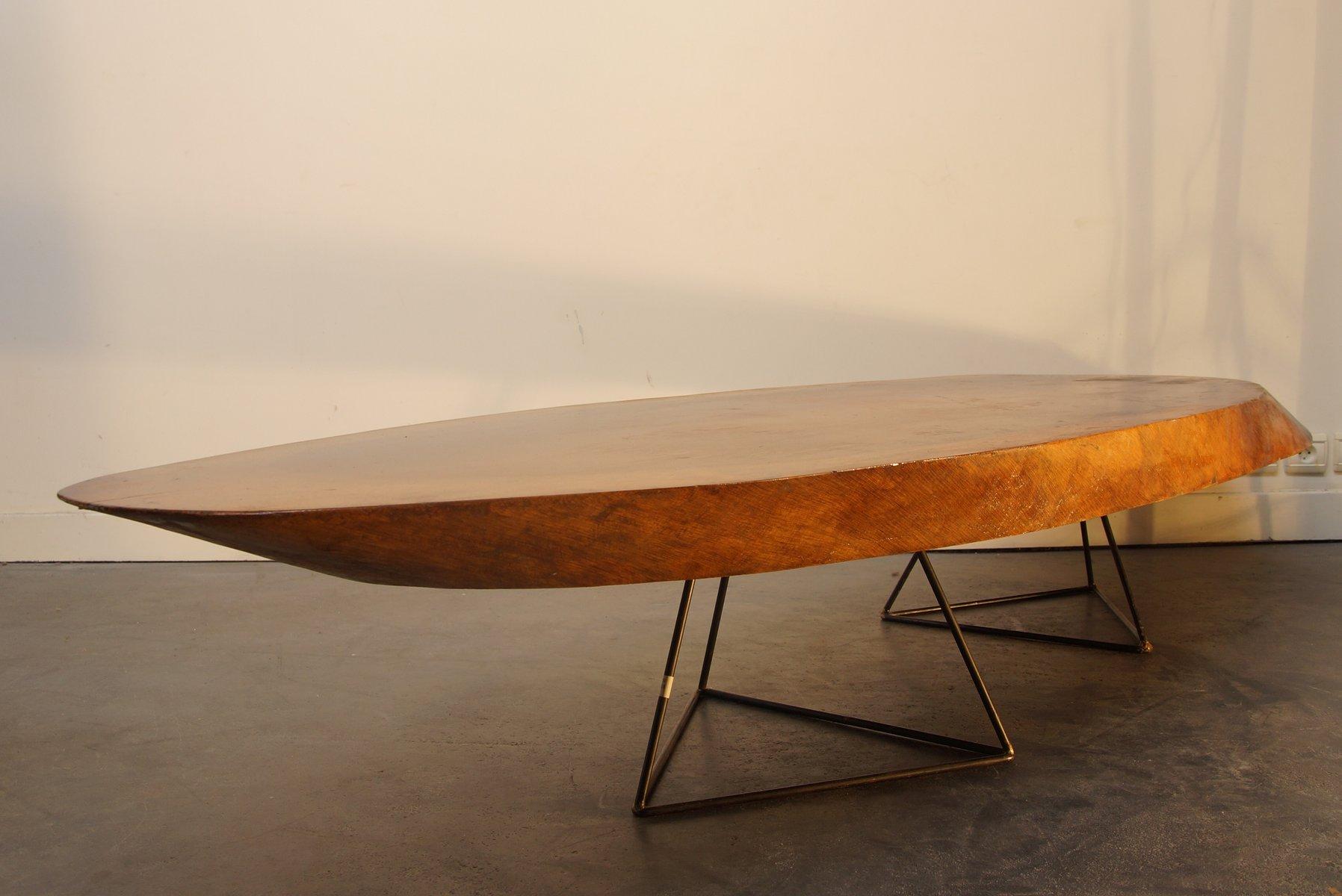 Table basse souche darbre table duappoint original tronc - Table plateau tronc d arbre ...