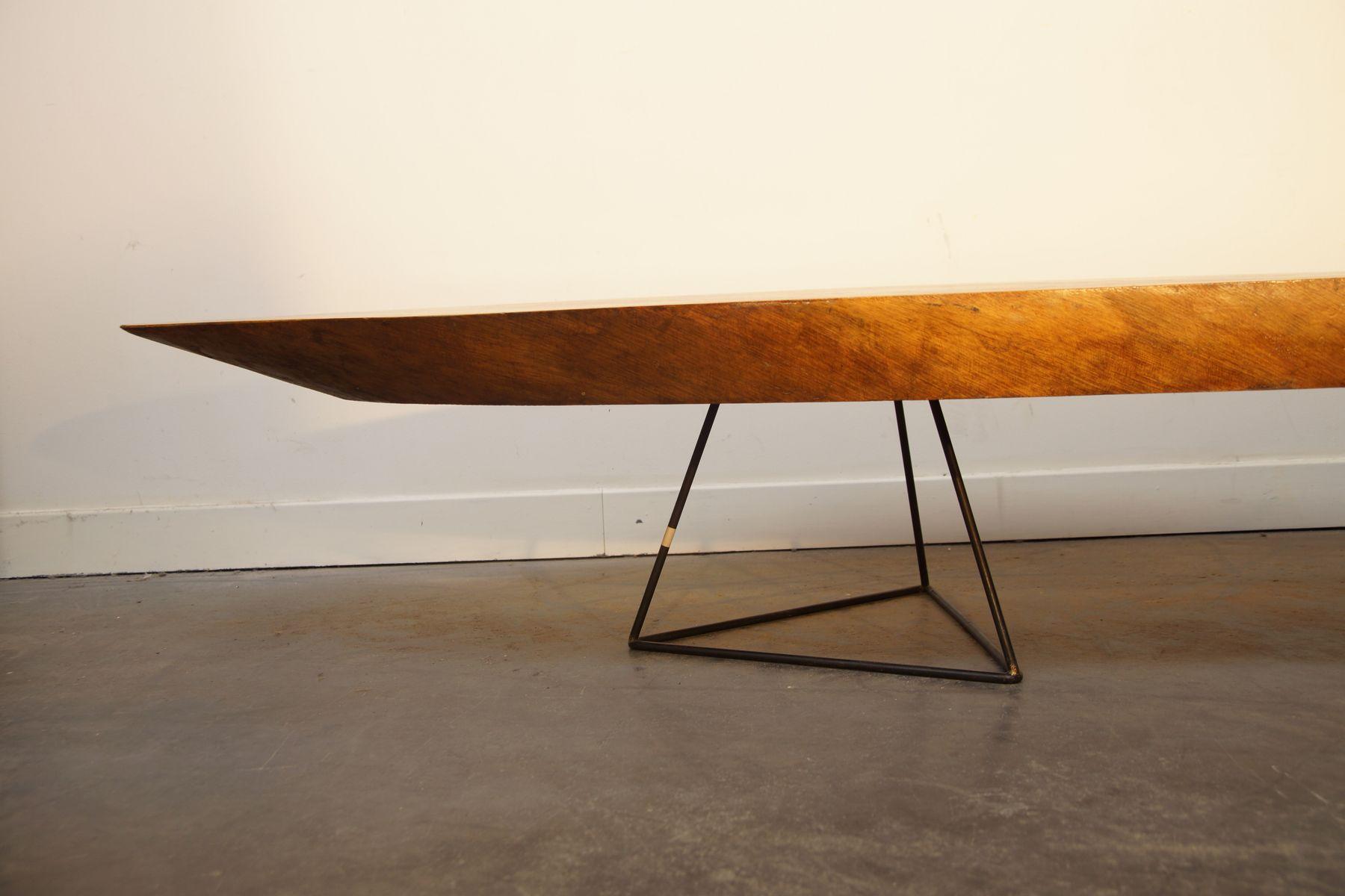 grande table basse tronc d 39 arbre vintage en vente sur pamono. Black Bedroom Furniture Sets. Home Design Ideas