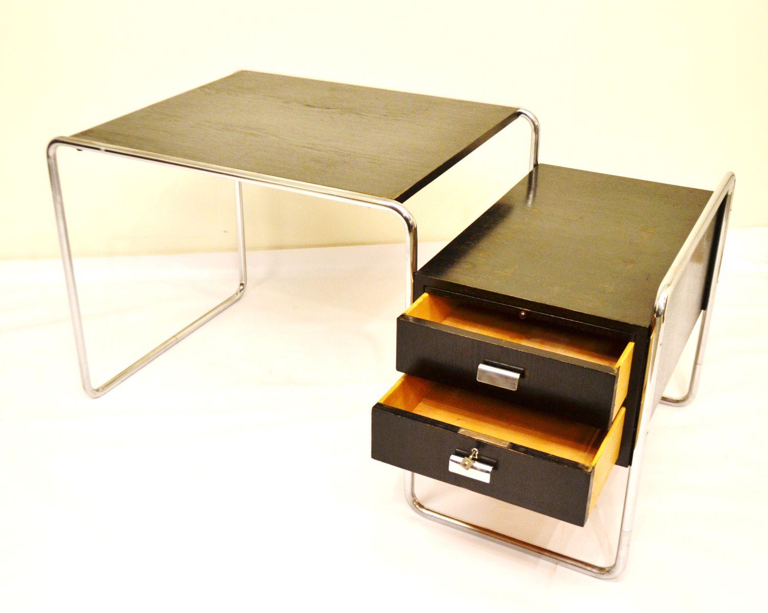 b65 schreibtisch von marcel breuer f r thonet 1932 bei pamono kaufen. Black Bedroom Furniture Sets. Home Design Ideas