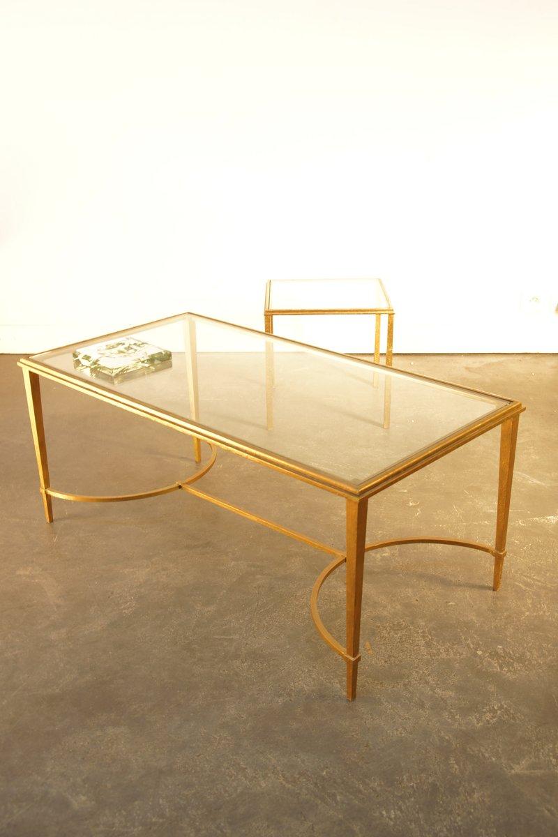 Jugendstil Wohnzimmer Tisch von Maison Ramsay 1960 bei Pamono kaufen