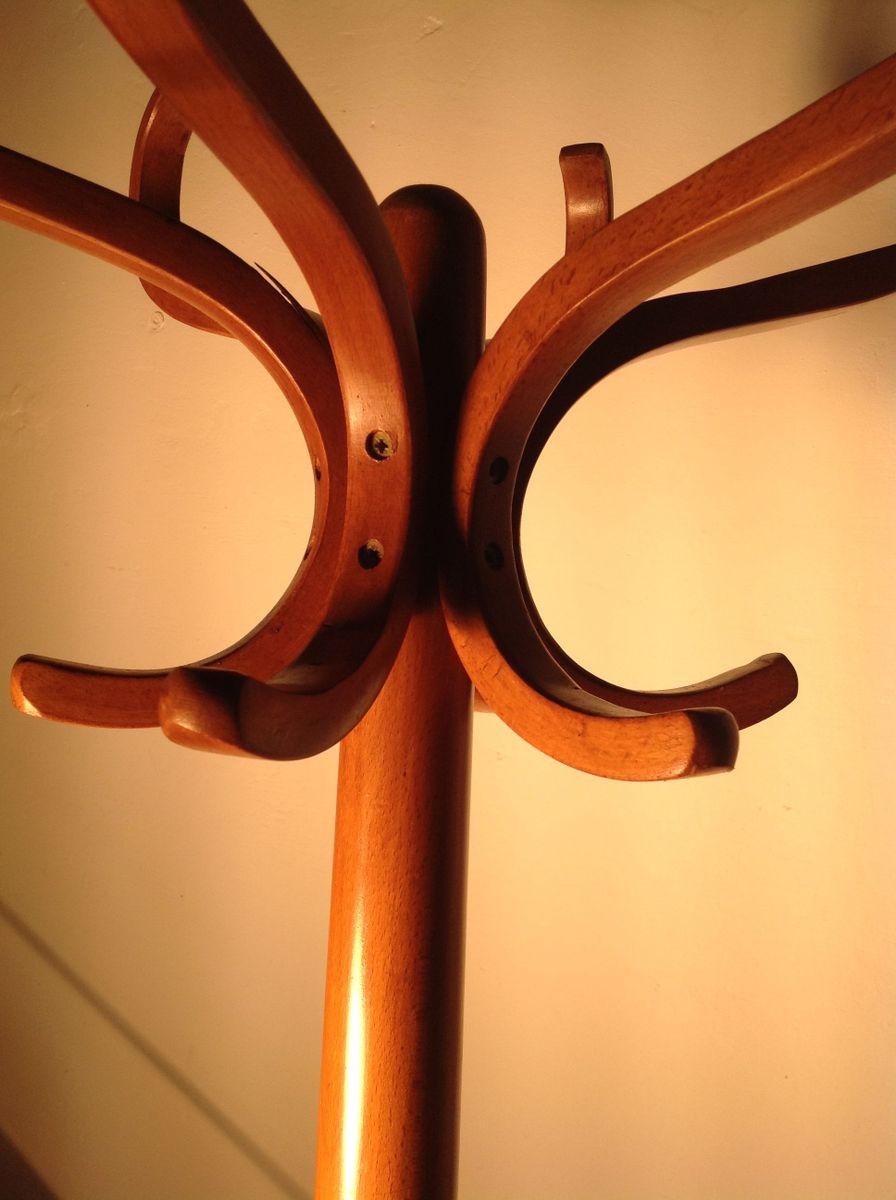 porte manteau perroquet en bois courb de baumann 1960s en vente sur pamono. Black Bedroom Furniture Sets. Home Design Ideas