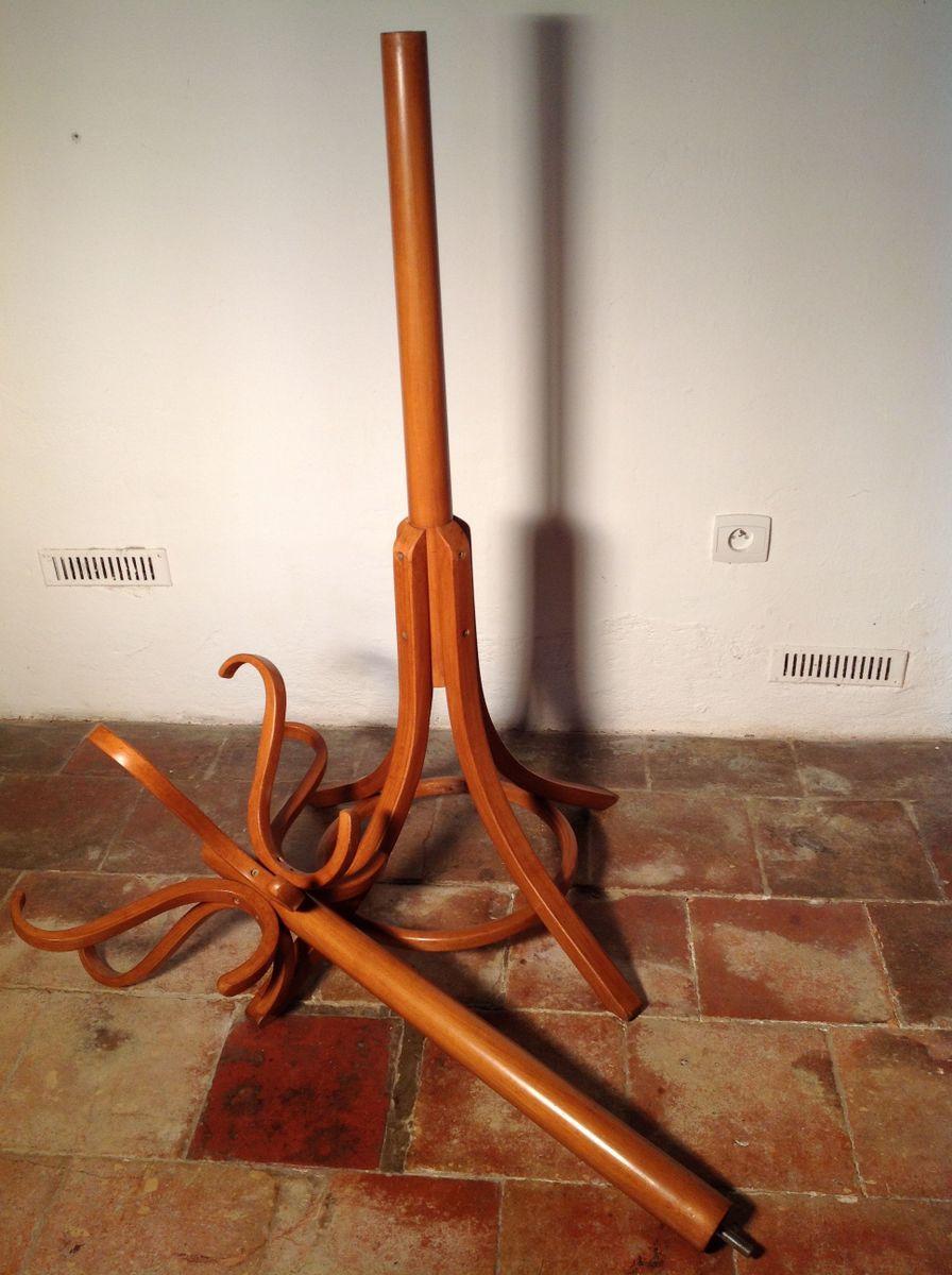 porte manteau perroquet en bois courb de baumann 1960s. Black Bedroom Furniture Sets. Home Design Ideas